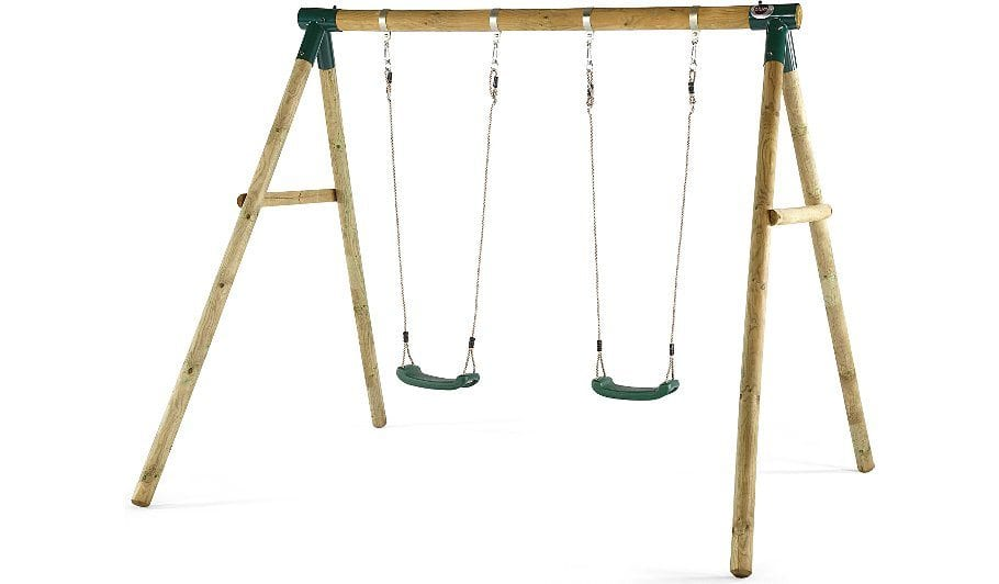 Plum Marmoset Wooden Garden Swing Set – Crocodile Stores