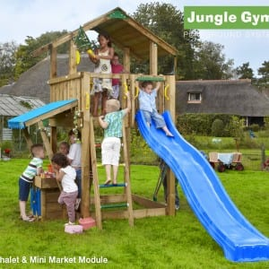 jungle gym chalet crocodile stores. Black Bedroom Furniture Sets. Home Design Ideas