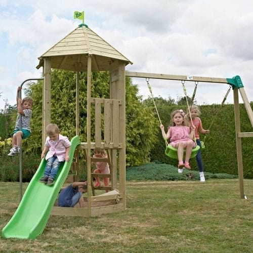 Tp Forest Toddler Wooden Climbing Frame Amp Slide