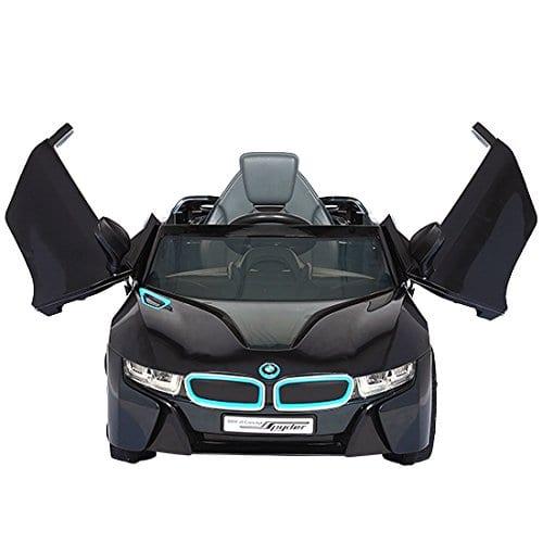 Bmw I8 Spyder 12v Black Electric Car Crocodile Stores