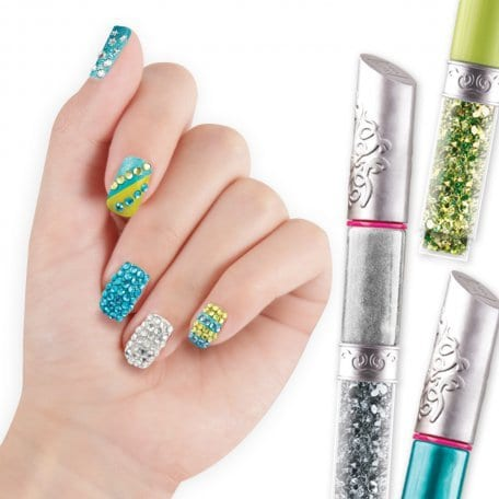 Beauty Accessories Style Me Up Bling Nail Art Pens Green 1160 1