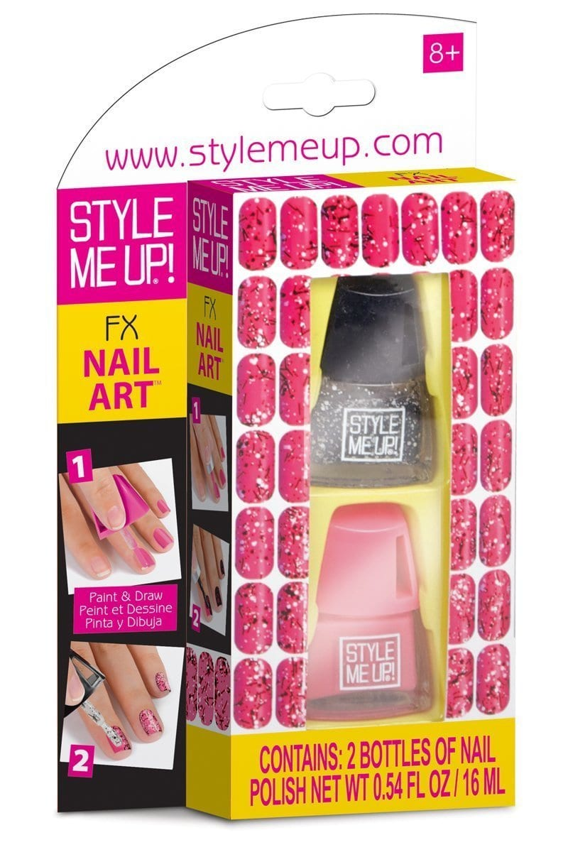 Beauty Accessories – Style Me Up – FX Nail Art Pink 1677-3 ...