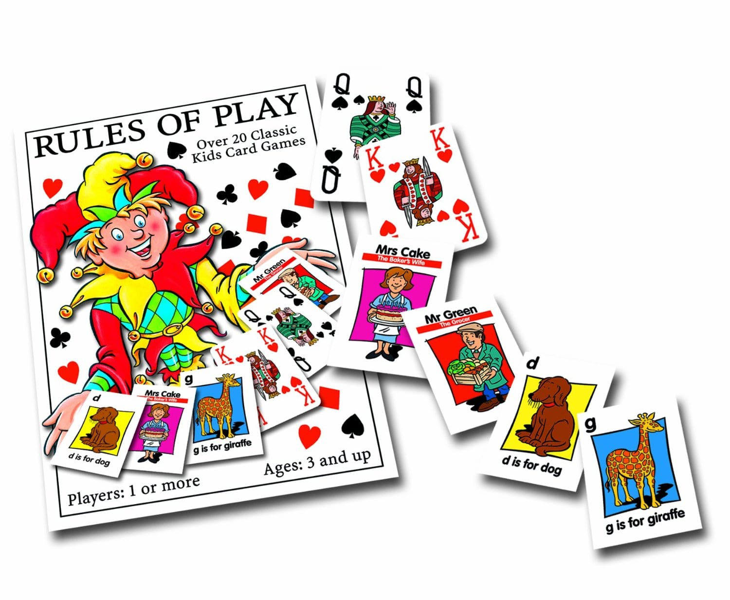 Go Fish For Kids With Playing Cards