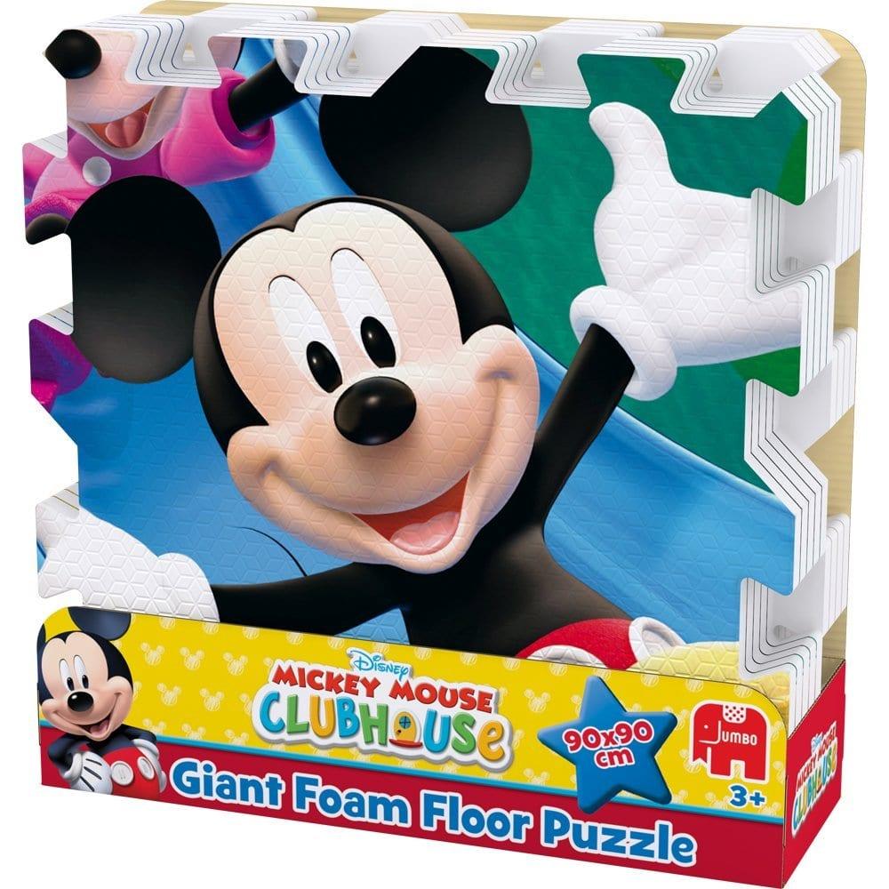 Disney Mickey Mouse Club House Giant Foam Floor Jigsaw