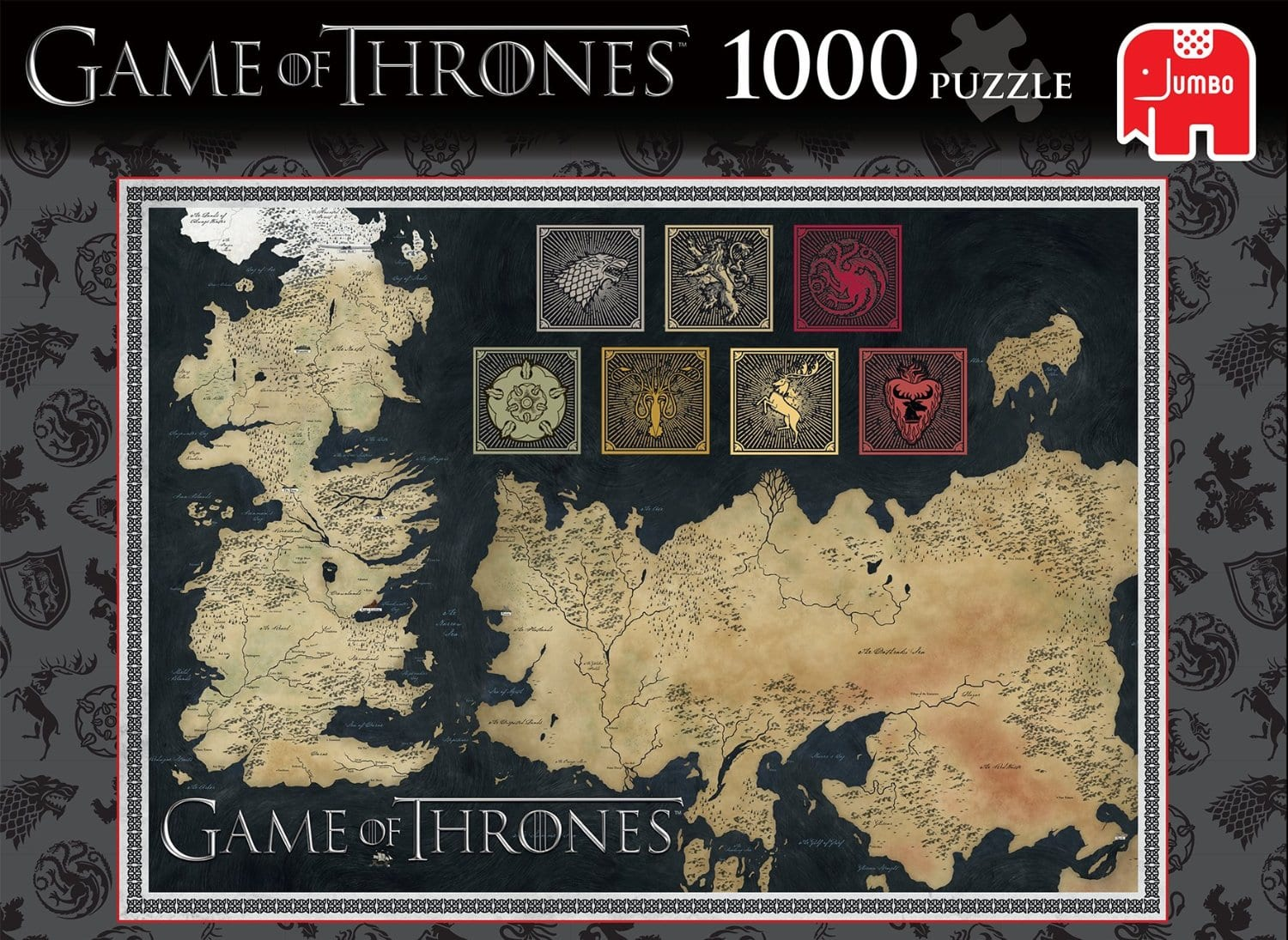 Game of thrones map of the known world jigsaw puzzle 1000 pieces thrones map of the known world jigsaw puzzle 1000 pieces gumiabroncs Gallery