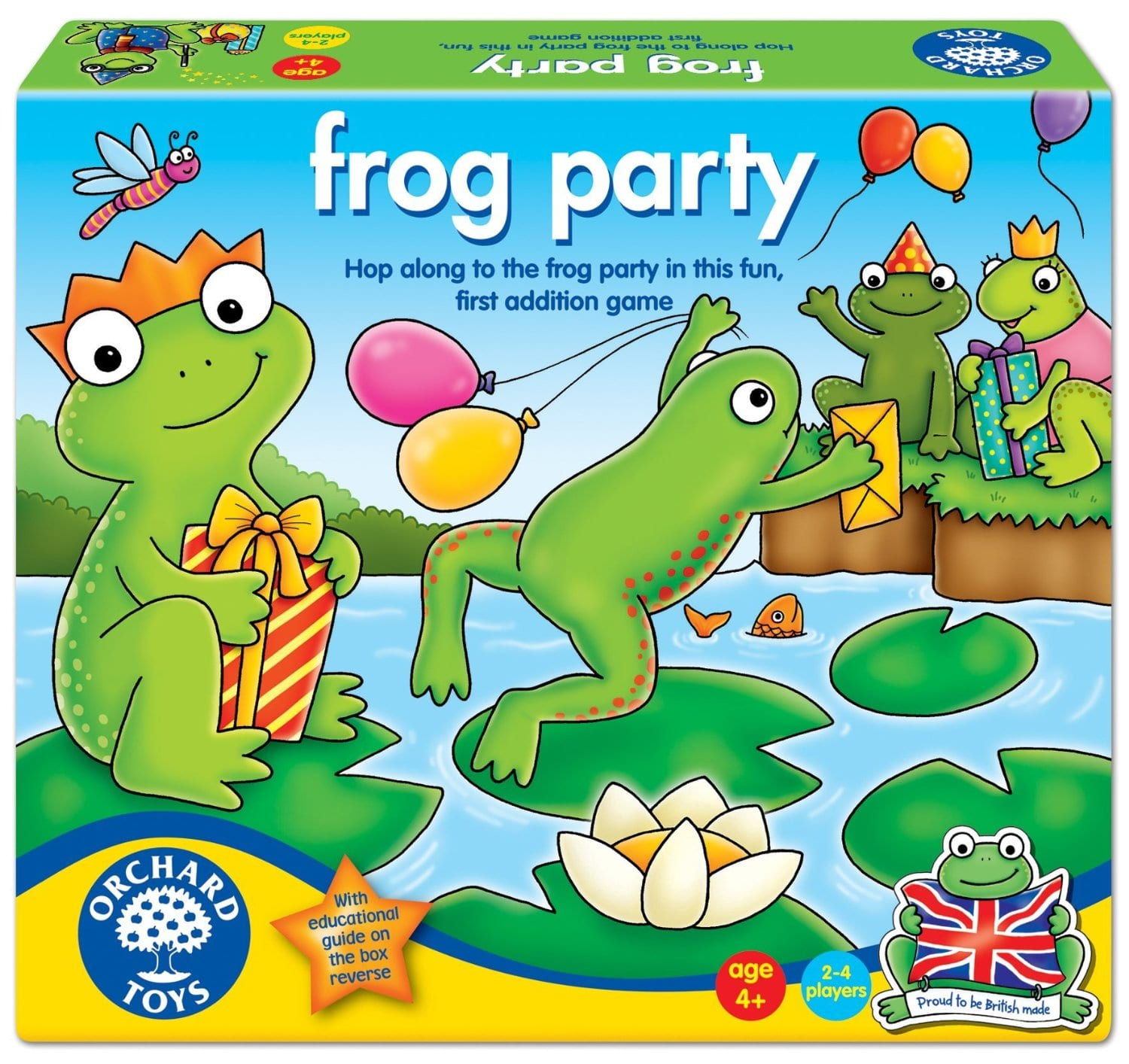 Toy Game Store In Lone Tree: Orchard Toys Frog Party Board Game