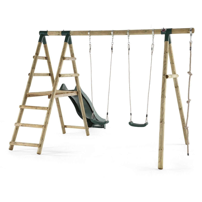 Plum Giant Baboon Wooden Garden Swing and Climbing Frame – Crocodile ...