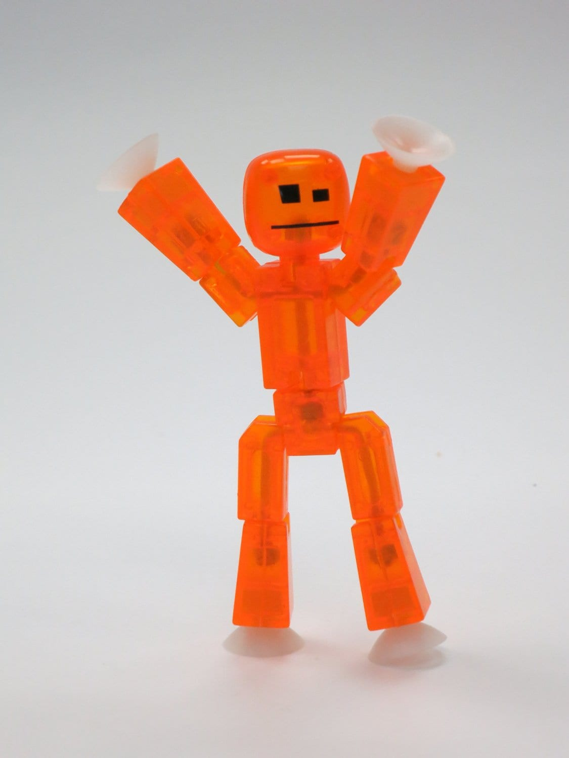 Toys And Co : Toy shed stikbot studio set orange white clear
